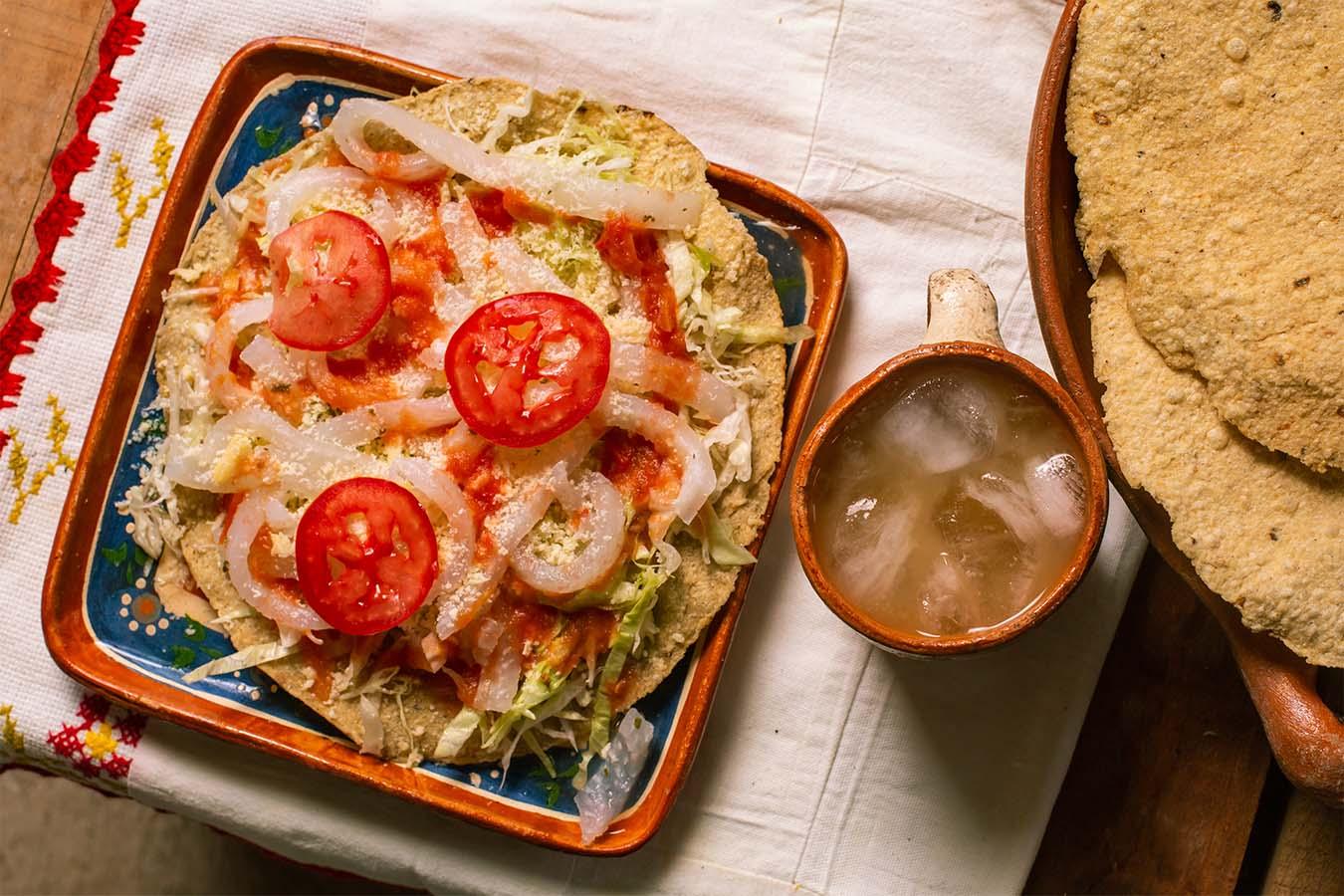 tostadas mexicanas tejuino tostadas raspadas mujeres del maiz Jalisco