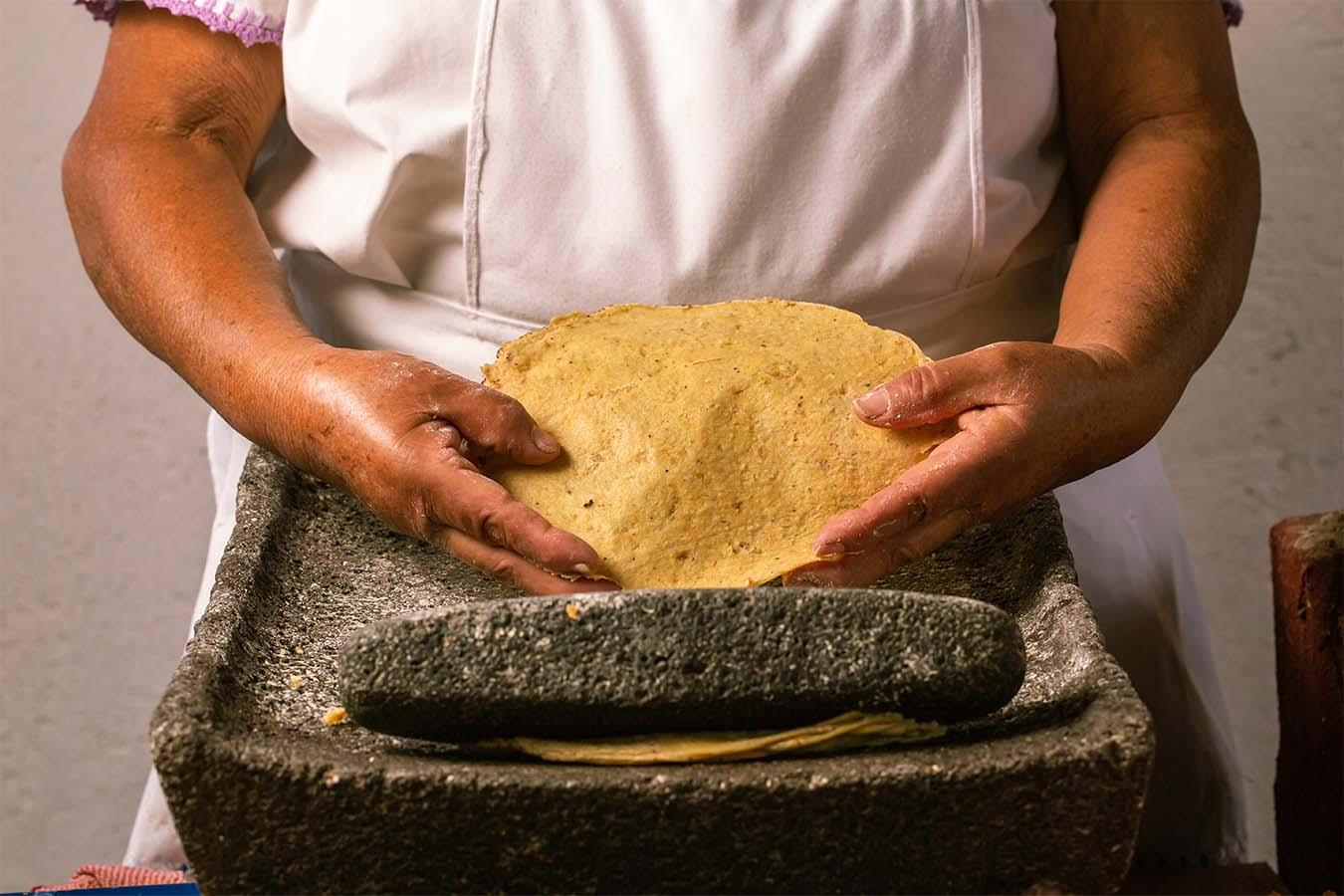 mujeres del maíz Maru Toledo tostadas mexicanas raspadas