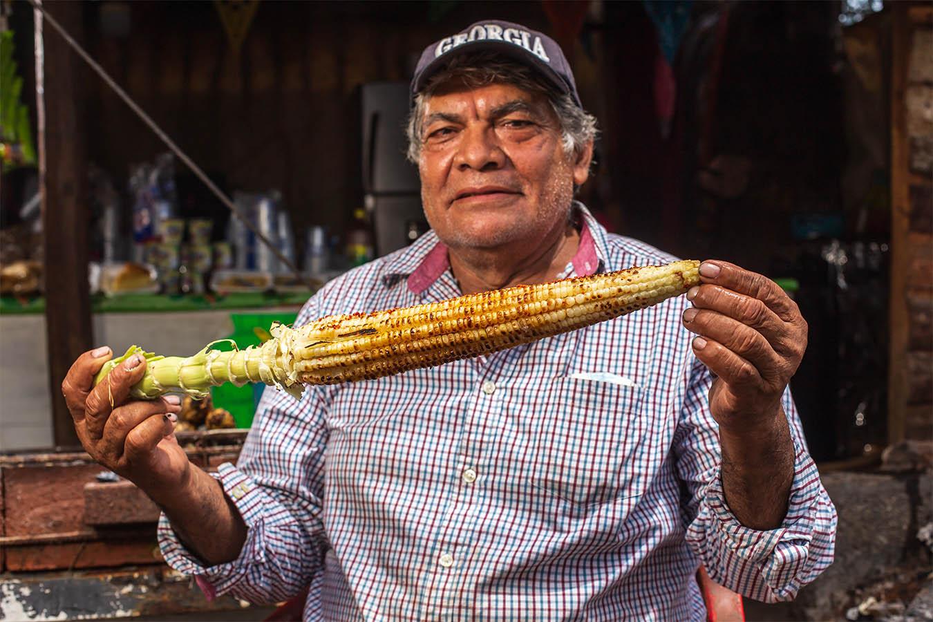 maiz jala maiz más grande del mundo elotes preparados elotes mexicanos