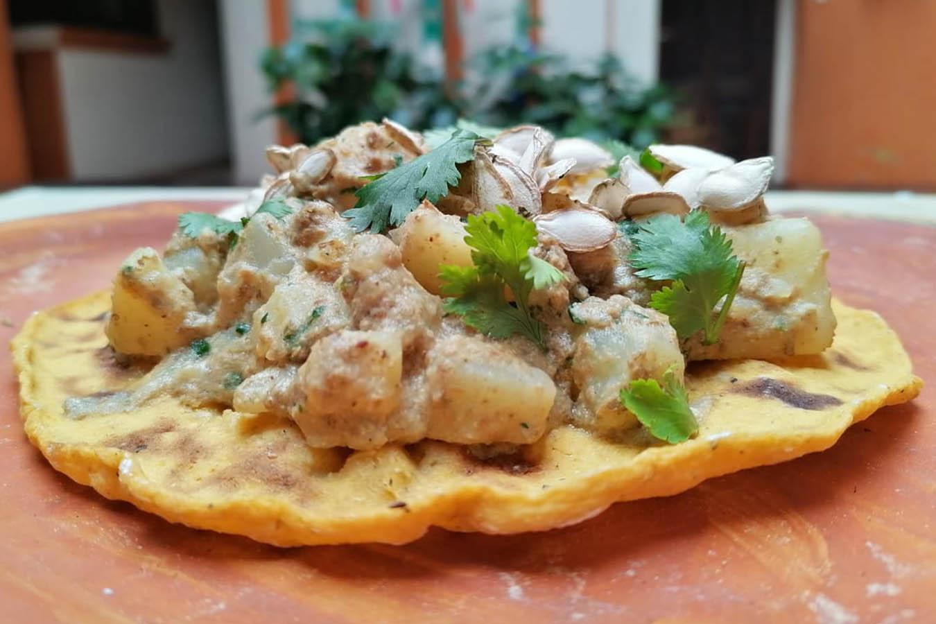 kokono claudia ruiz comida de Chiapas